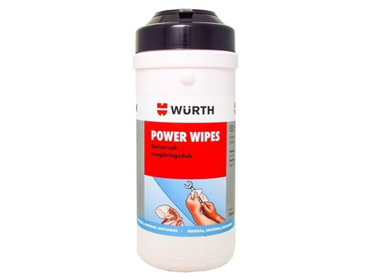 Wurth Power Wipes puhdistuspyyhkeet