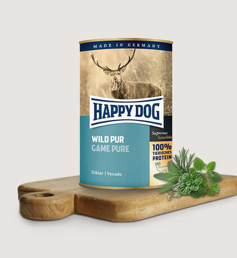 Happy Dog Wild Pur 400g