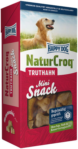 Happy Dog Natur Snack Mini Truthah keksit 350g