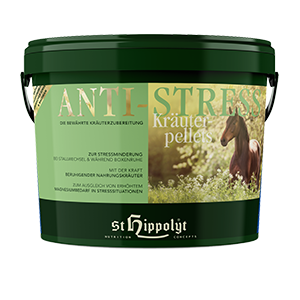 St. Hippolyt Anti-Stress Kräuterpellets 3kg