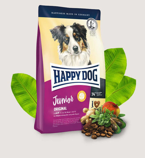 Happy Dog Supreme Young - Junior Original 4 kg ja 10kg