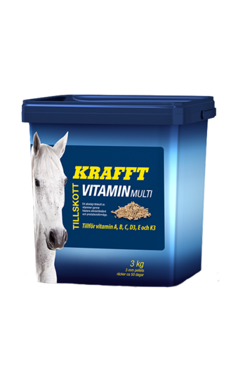 Krafft Multi Vitamin Pellets 3kg